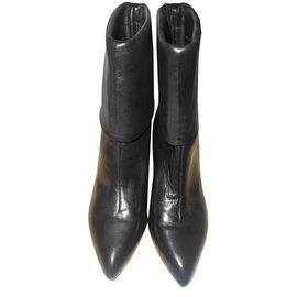 Louis Vuitton-Bottines-Noir