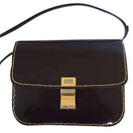 Céline-Classic box medium-Marron