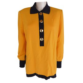 Yves Saint Laurent-Top-Jaune