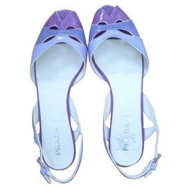 Prada-Sandales-Violet