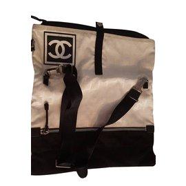 Chanel-VINTAGE-Noir,Blanc