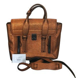 3.1 Phillip Lim-Pashli Copper Bag Medium-bronze