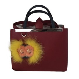 Fendi-Sacs à main-Rouge