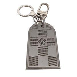 Louis Vuitton-Porte clé-Argenté