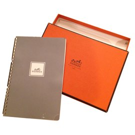 Hermès-Notebook-Grey