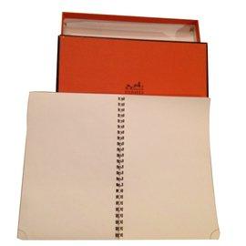 Hermès-Bloc Note-Gris