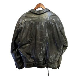Givenchy-Givenchy Men's Leather Jacket-Black