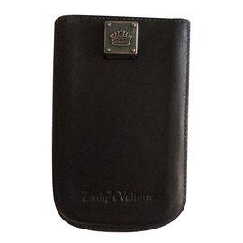 Zadig & Voltaire-Etui  portable-Noir
