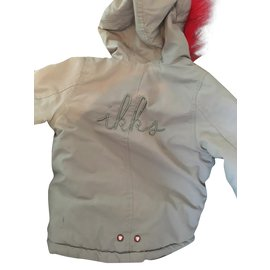 Ikks-Girl Coats outerwear-Grey