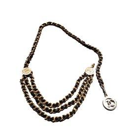 Chanel-Belt-Golden