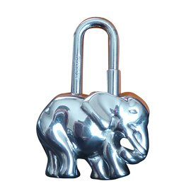 Hermès-Cadenas de sac éléphant métal argenté HERMES-Argenté