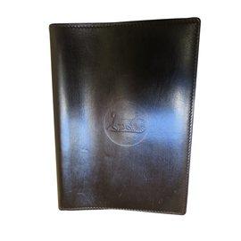 Céline-notepad holder-Brown