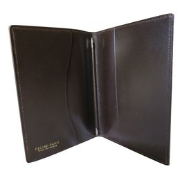 Céline-notepad holder-Brown