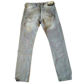 Autre Marque-jean slim 'Replay' modèle jeto-Gris