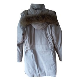 Canada Goose-Coat-Cream