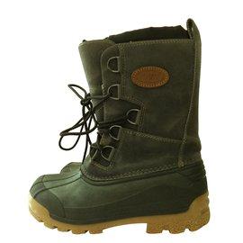 Autre Marque-'Olang' Boots-Grey