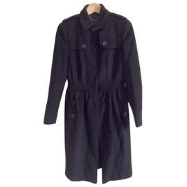 Burberry-Coat-Black