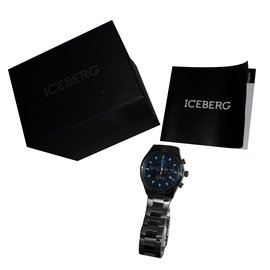 Iceberg-Montre à quartz-Multicolore