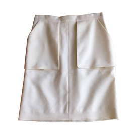 Céline-Skirt-White