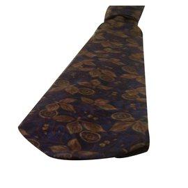 Autre Marque-Cravate 'Jean Patou'-Bleu