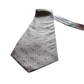 Jean Louis Scherrer-Cravate-gris anthracite