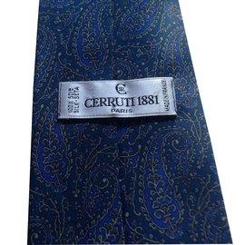 Cerruti 1881-Cravate-Bleu