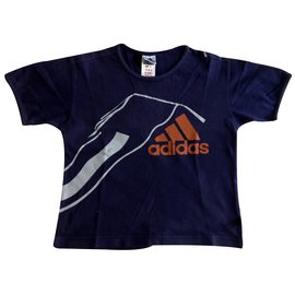 Adidas-Tops Tees-Blue