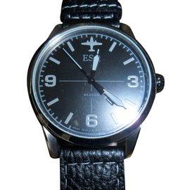 Movado-Watch-Black
