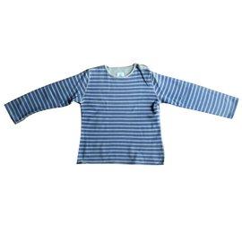 Petit Bateau-Tops tees-Blue