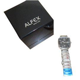 Autre Marque-Montres à quartz ALFEX-Argenté