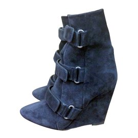 Isabel Marant-Ankle Boots-Dark grey