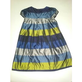 Jacadi-Robes fille-Multicolore