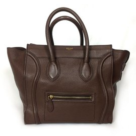 Céline-Céline Luggage Marron-Marron