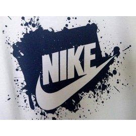 Nike-Tops Tees-White
