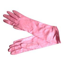 Autre Marque-gants cuir Georges Morand-Métallisé