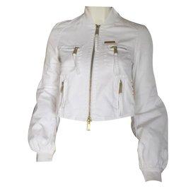 Dsquared2-Vestes-Blanc
