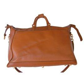 Gucci-Large Boston Bag Travel-Cognac