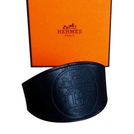 Hermès-Manchette Ex Libris-Noir