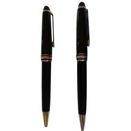 Montblanc-Montblanc bic noir - argent et bic noir -or-Noir