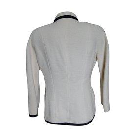 Chanel-Skirt suit Tweed-Cream