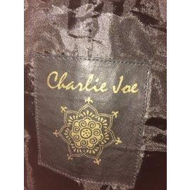 Autre Marque-Blouson  Charlie joe-Noir