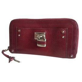 Chloé-Paddington-Dark red