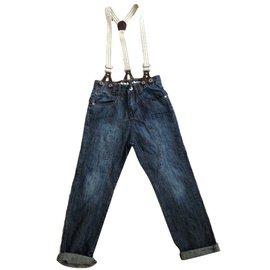 Autre Marque-Jeans.Dept by kid's graffiti-Bleu