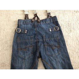 Autre Marque-Jeans.Dept by kid's graffiti-Blue