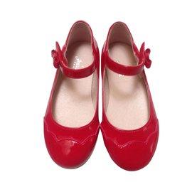 Jacadi-Ballerines enfant-Rouge