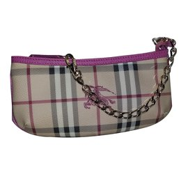 Burberry-Clutch bag-Brown