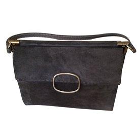 Roger Vivier-Handbag-Grey