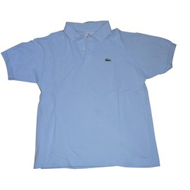 Lacoste-Tops Tees-Blue