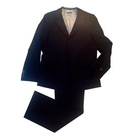 Autre Marque-Paper Moon  Jacket and trousers.-Blue