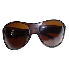 Chanel-Lunettes de soleil-Marron